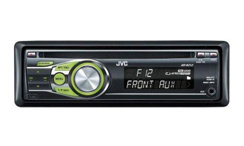 JVC KD-R 312 MP3-CD-Tuner (Front-Aux Eingang) schwarz-grün