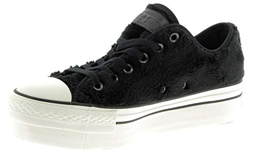 CONVERSE 558974C CT AS OX PLATFORM SNEAKERS Donna BLACK 37.5