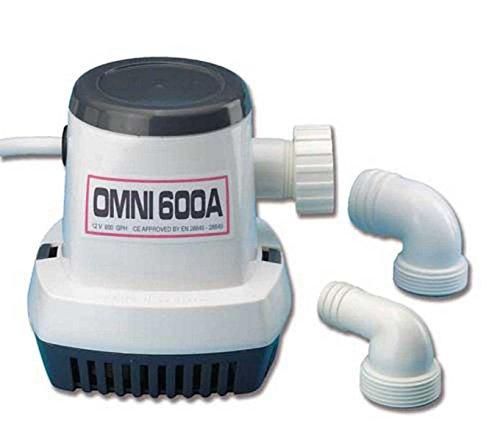 Dompelpomp Omni 600A 12V automatische elektrische pompen hydraulische pomp