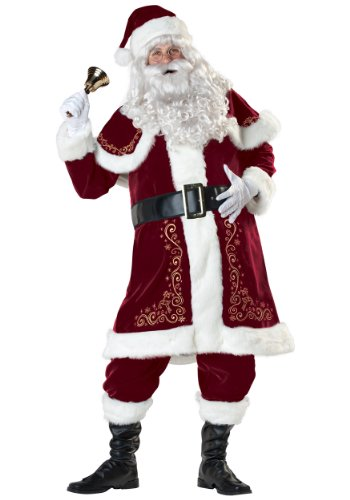 Jolly Ole St. Nick Santa Fancy Dress Costume Medium