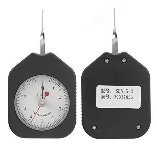 Yivibe Medidor de tensión, dinamómetro portátil 5N Compacto para Interruptor electrónico para microinterruptor