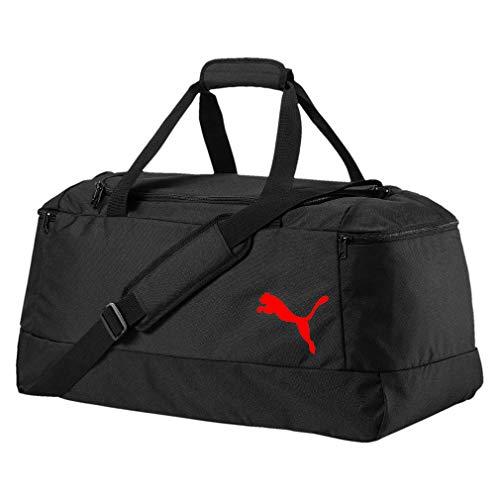 PUMA Pro Training II Medium Bag Tasche Sporttasche ca. 64 Liter, Farbe:schwarz-rot