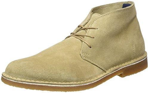 Selected Shhroyce New Light Boot, Desert Homme, Beige (Oyster Gray), 44 EU