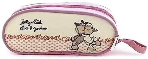 NICI Kinder-Sporttasche, Pink/Weiß
