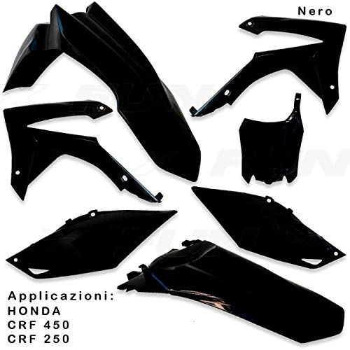 x-fun Kit Plásticos Completas Moto Honda crf 45013–16Negro