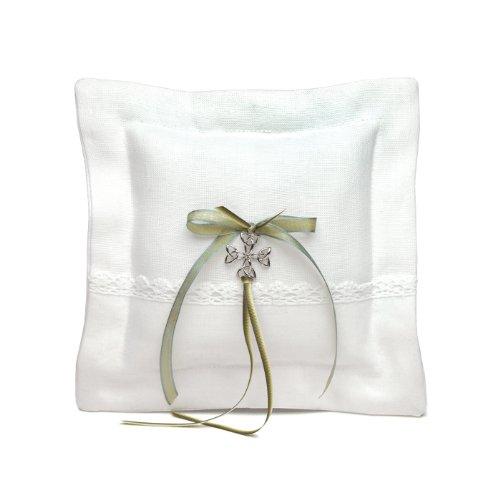 Weddingstar Ringkissen mit keltischem Charm, quadratisch