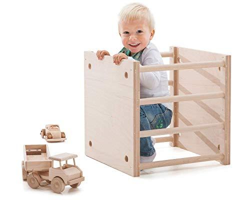 KlapperSpecht Holzwürfel/ Krabbelwürfel nach Art Emmi Pikler