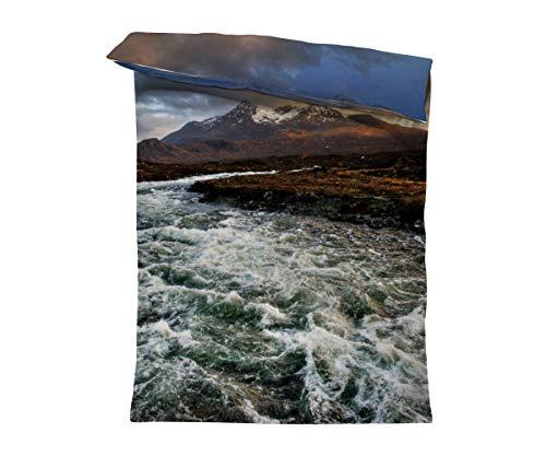 fotobar!style Bettbezug 135 x 200 cm Isle of Skye, Schottland