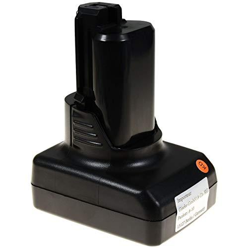 Preisvergleich Produktbild Akku für Bosch Typ 2607336779,  12V,  Li-Ion