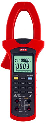 UNI-T MIE0104/UT231 Digitales Zangenamperemeter, Multimeter professionele Messung