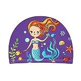 2-5 años niños y niñas natación Gorras 2019 niños niños niños niños pequeño Playa natación Sombreros de Dibujos Animados Piscina Tapa (Color : MRY-1, Size : 2-5Years)