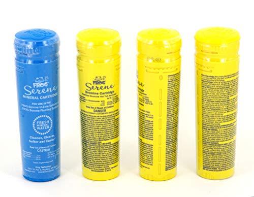 SpaFrog chemischen Bundle–1Mineral–3Brom catrtridges