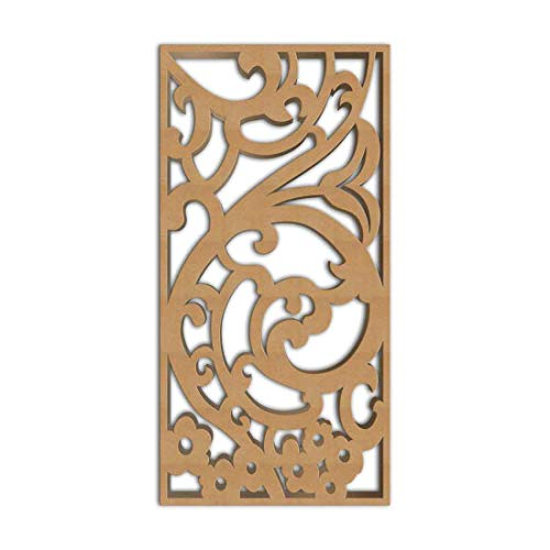 Great Price! NISH! Ornamental Decorative Carved MDF Wood Wall Panels for Room Partition, Screen, Div...