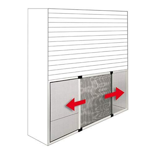 Zanzariera estensibile da 0,7 x 0,5 metri per finestra e porta Zanzariera estensibile 0,7 x 0,5 m GRIGIO