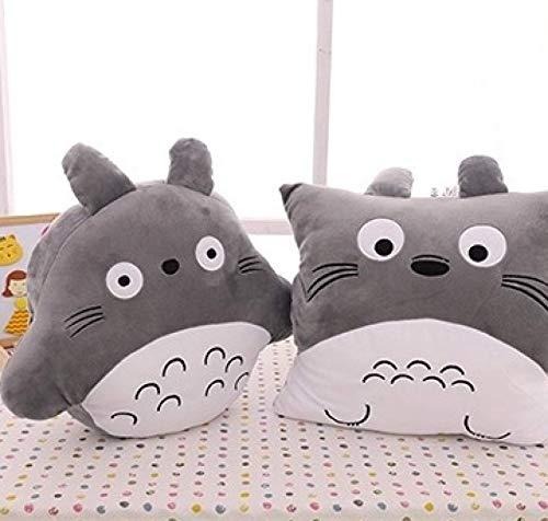 yskcsry 2 Unids / Set Dibujos Animados Totoro Insertada Mano Almohada Cojín De Peluche De Juguete 40 * 47Cm Niños Niñas San Valentín