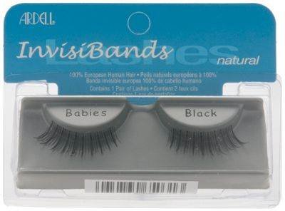 Ardell Invisiband Lashes, Babies Black, 1 Pair by Ardell