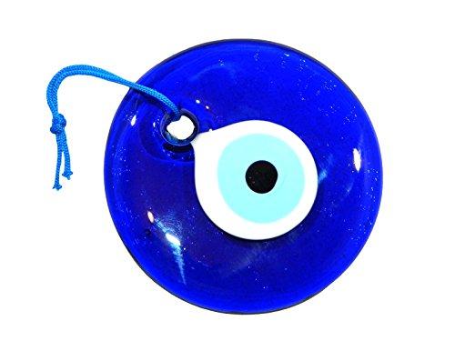 12cm Lucky mal de ojo Nazar Boncuk griego Turco de cristal colgante buena suerte protección