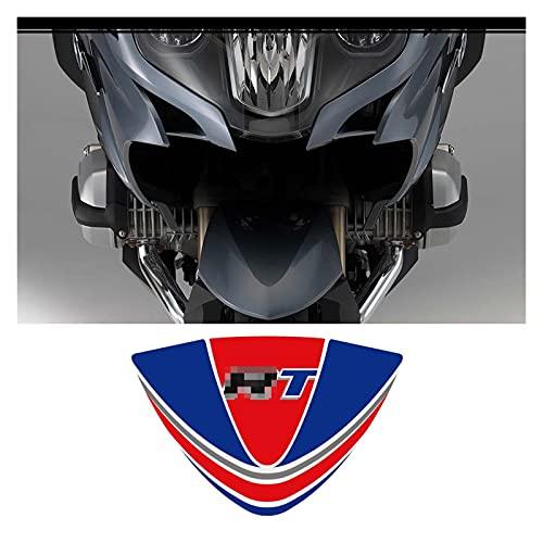 Tatumyin Panniers de la Cola de Las Motocicletas Caja del Equipaje del Tronco de la Rodilla del Tanque de la Rodilla Protección del carenado Pegatinas de Guardabarros para BMW R1200RT hnszf