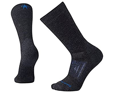 Smartwool PhD Outdoor Heavy Crew Socks (Charcoal) X-Large