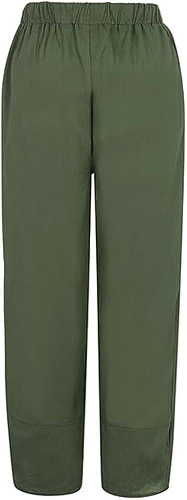 NP Women's Pants Summer Casual Loose Color Wide-Leg Pants Trousers Women Clothing