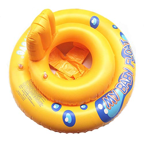 Great Price! Float Swimming Ring with Backrest- Pool Infant Chair-Easily for Storage and Transport, ...