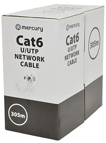 Mercury   Cable de red de cobre sólido de alta velocidad Cat6...