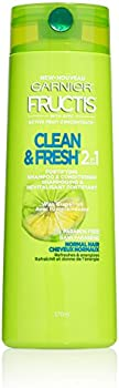 2-Pack Garnier Fructis 2-in-1 Shampoo and Conditioner (12.5 fl. oz.)
