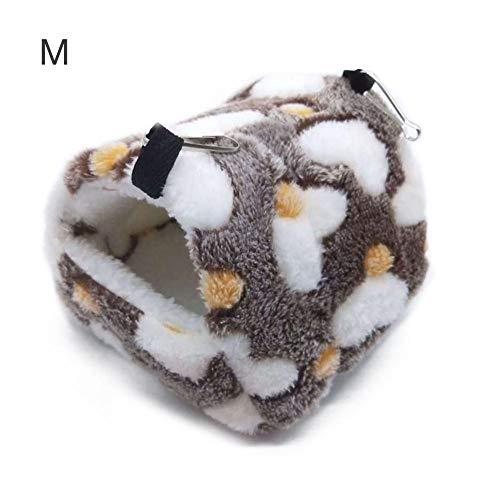 bozitian Haustier Kuschelhöhle Hamstern Meerschweinchen Weicher Warm Haustier Nest Kuschelhöhle Mit Schöne Muster, Hamstern Meerschweinchen Nest