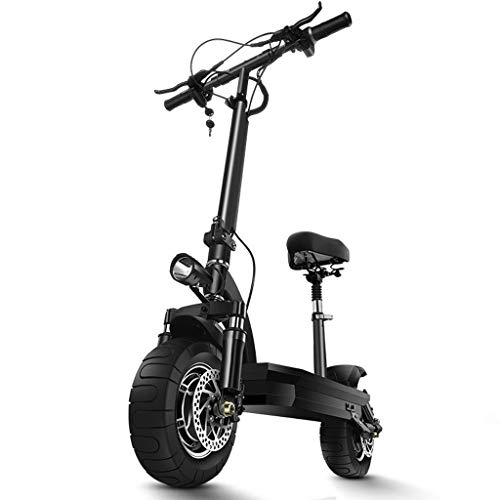 Best Prices! Off-Road Electric Scooter, Collapsible Portable Office Worker Pedal Scooter, Five-fold ...