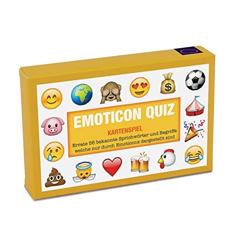 Emoji Kartenspiel Sprichwörter Quiz