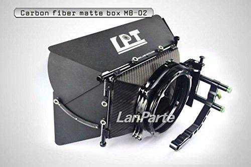 Lanparte MB-02 Carbon-Faser-Matte Box für 15mm Rods