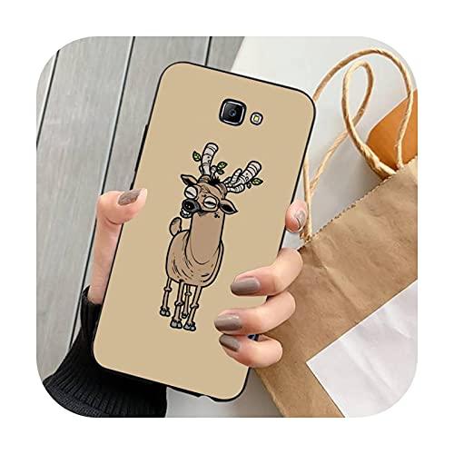 Double-sweet lindo animal de dibujos animados teléfono caso para Samsung Note 8 9 10 20 Lite pro ultra J 7 2 4 6 5 prime-a11-para J2 prime