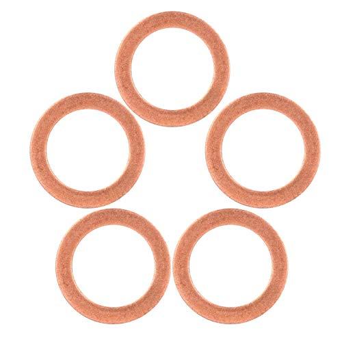 Tenpac Junta, Resistente, Alta confiabilidad, Cilindro de Buceo de tamaño pequeño, válvula de Repuesto, arandela de Alta Resistencia con 5 Piezas para Cilindro de Buceo