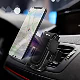 IPOW Air Vent Car Phone Mount Holder Universal Cell Phone Holder for Car with Auto Lock Strong Stability Compatible with iPhone XR/XS Max/XS/X/8/8 Plus/7/7 Plus, Galaxy S10/S10 Plus/S9/Note 9 etc.