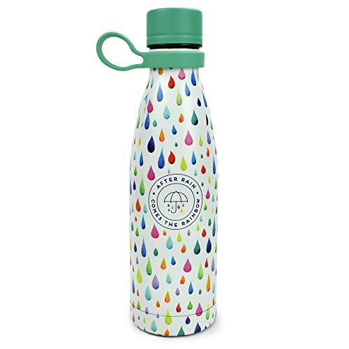 Legami - Botella térmica, Color Blanco, tamaño Mediano