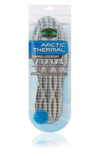 Moneysworth & Best Shoe Care Arctic Thermal Insoles, Men's Size 10-11