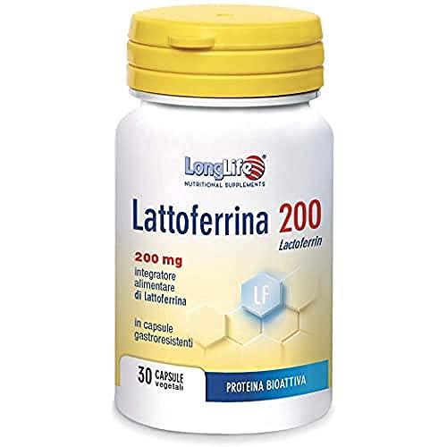 Lattoferrina LongLife | 100% naturale, da latte vaccino |...