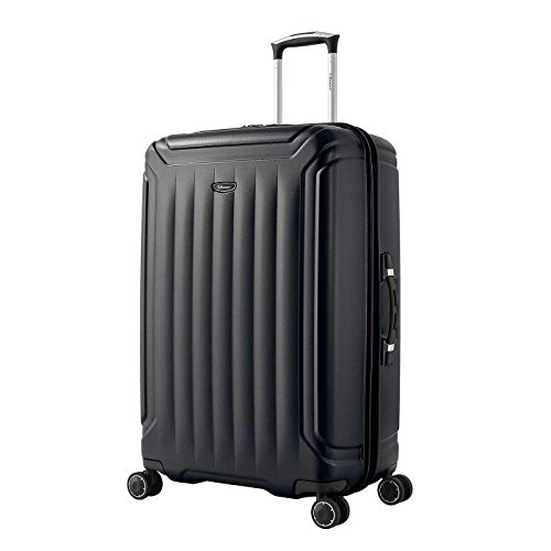 Eminent Suitcase Cove 75 cm 110 L Extra Secure Zipper 4 Double Wheels TSA Lock Black