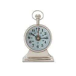 Deco 79 28460 Table Clock, 4 W x 6 H