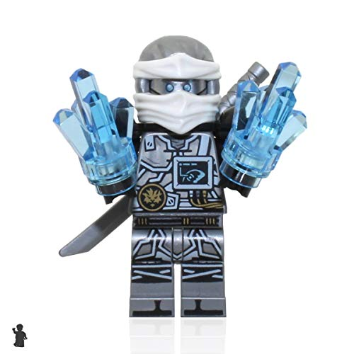 LEGO Ninjago Hands of time Minifigure - Zane (Limited Edition Foil Pack with Sword and Crystals)