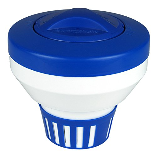 Poolmaster 32155 Floating Swimming Pool Chlorine Dispenser, Essential Collection