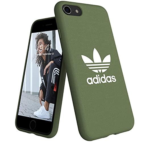 adidas Originals Adicolor - Carcasa para iPhone 8/7/6S/6, Color Verde Claro