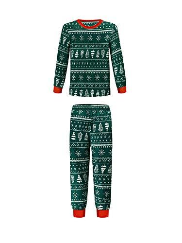 Schlafanzug für Erwachsene, Kinder, Baby, 2-teiliges Set, langärmelig,...