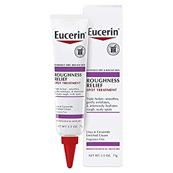 Eucerin Roughness Relief Spot Treatment Targeted Treatment for Extremely Dry Rough Skin 2.5 oz Tube
