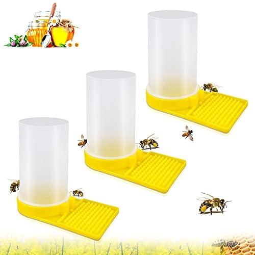 Oruuum - Set di 3 dispenser di acqua per apicoltura, per l'ingresso di alveare e per l'apicoltura, per l'apicoltura