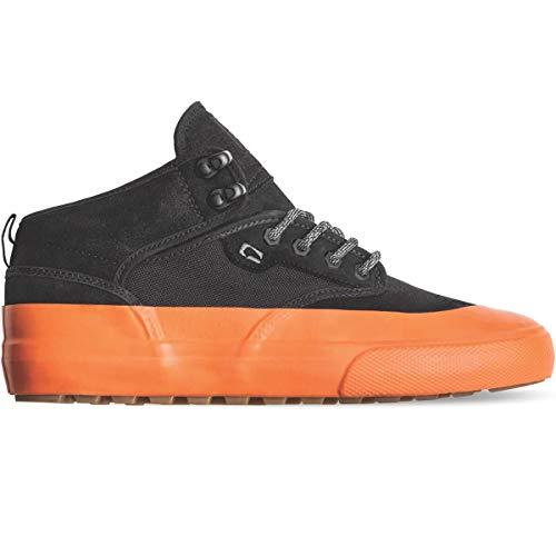 Globe Herren Motley Mid Skateboardschuhe, Mehrfarbig (Black/Orange/Mudguard 000), 44 EU