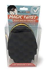 Black Ice Magic Twist Hair Brush Sponge