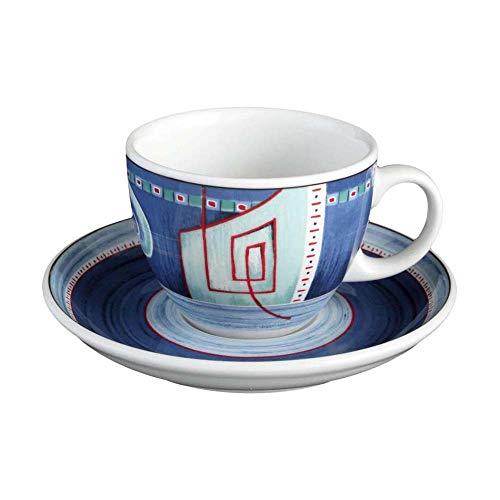 Seltmann Weiden VIP, Tazza da Cappuccino e Sottotazza, da Caffè, Imperia, Porcellana, Lavabile in Lavastoviglie, 220 ml, 1260563