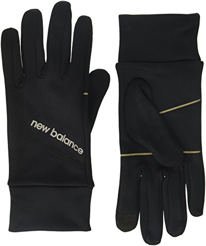 New Balance Running Gloves, Black, X-Large (9.5-10')