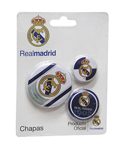 Real Madrid - Blister 3 chapas (CYP Imports 03-RM)
